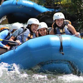 Whitewater Rafting  by Karen Carter Goforth - Uncategorized All Uncategorized ( adventure, rafting, whitewater, fun,  )