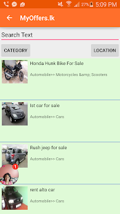 MyOffers.lk Free Classifieds- screenshot thumbnail