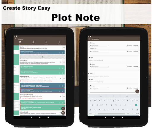 Story Plotter [ write novel, comic, movie!! ] screenshots 9