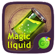Magic Liquid GO Keyboard Theme