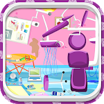 Clean Up Dental Surgery Game Icon