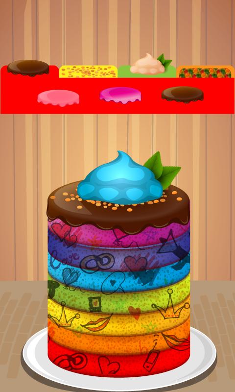 Rainbow Cake Artinya : Rainbow Cake Maker Bake shop - Android Apps on Google Play