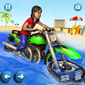 Bike Water Surfing - Xtreme Racing Games 2020 icon
