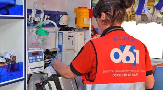 Denuncian que el 061 de Vera no atiende emergencias extremas por falta de equipo