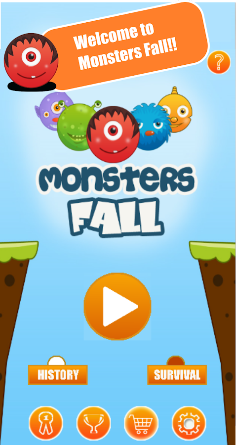 Monsters Fall!- screenshot