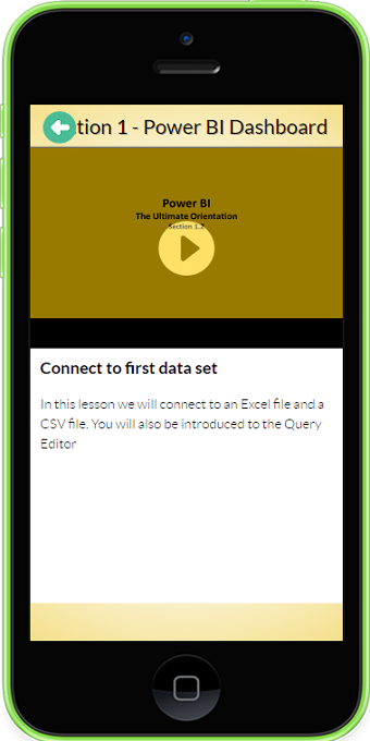 Power BI Ultimate Orientation- screenshot