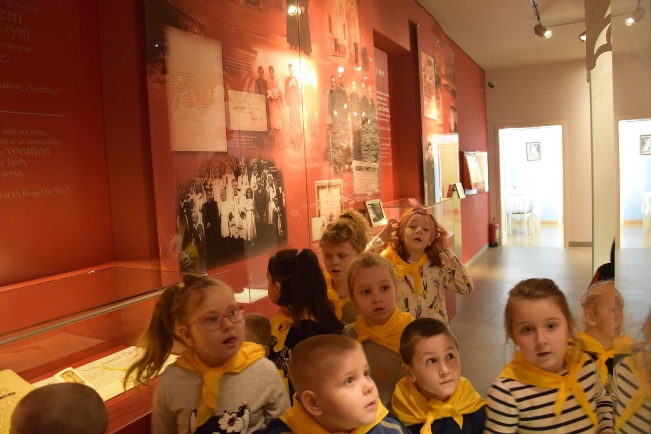 W Muzeum Domu Rodzinnego Jana Pawła II
