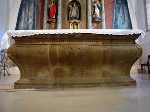 Photo: boletín 118 - Mesa del altar mayor (1784)