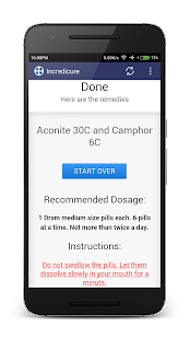 Homeopathy Remedy Finder- screenshot thumbnail