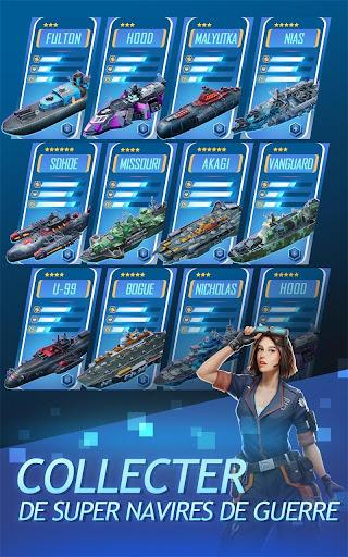 Battleship & Puzzles: Warship Empire APK MOD – ressources Illimitées (Astuce) screenshots hack proof 2