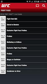 UFC.TV & UFC FIGHT PASS Screenshot 6