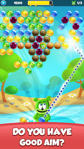 Gummy Bear Bubble Pop - Kids Game apktram screenshots 2
