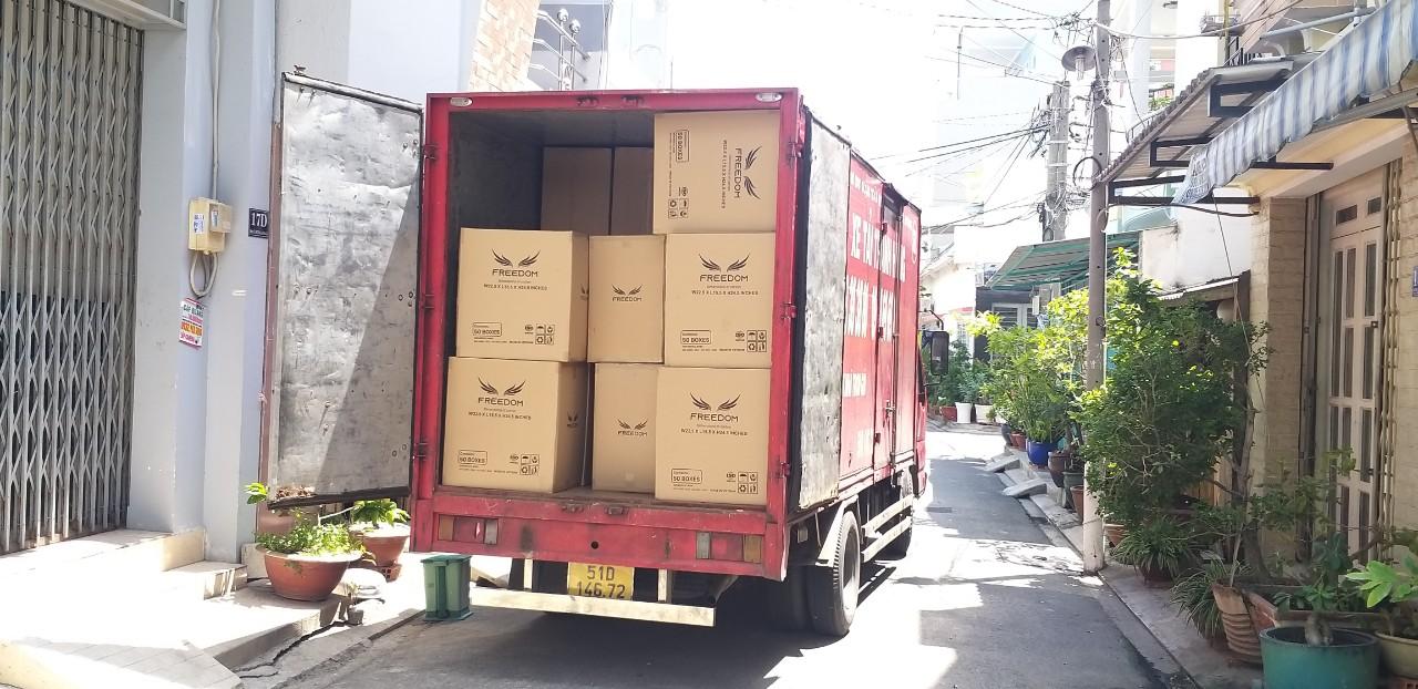 Thùng carton chuyển nhà Tân Bình