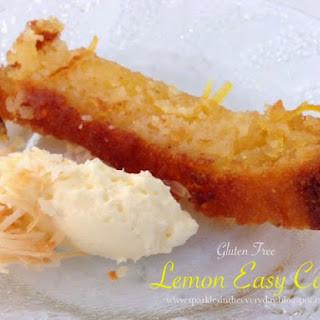 Gluten Free Lemon Easy Cake!!