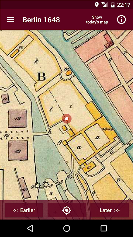 Historical Atlas Berlin pro- screenshot