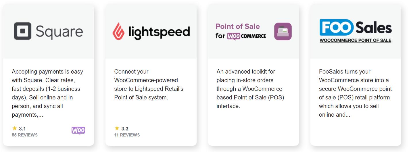 WooCommerce POS plugins