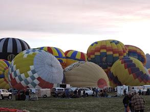 Photo: On the balloon field