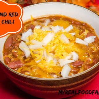 Mr. Real Food's Beef and Red Bean Chili