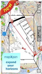 Aqua Map Oklahoma Lakes GPS - náhled
