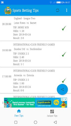 Betting Tips Pro- Mega Jackpot Tips 6.0 screenshots 1