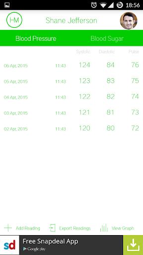 HealthMate – Blood Pressure BP