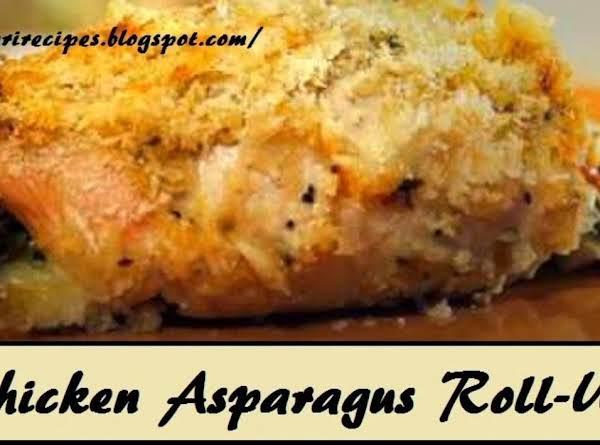 Chicken Asparagus Roll-ups Recipe