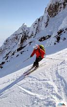 Photo: Skier: Aljona, location: volcano Koryaksky, Kamchatka-peninsula