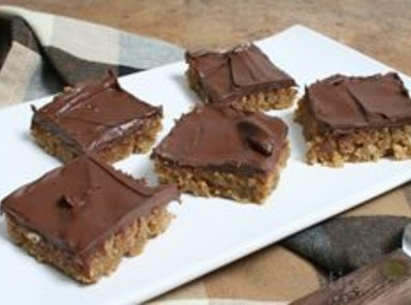 Peanut Butter Oatmeal Bars Recipe