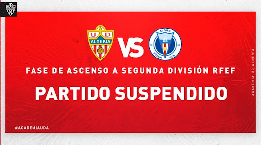 El partido del Almería B del domingo no se jugará
