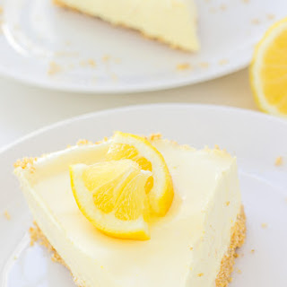No-Bake Lemon Pie.