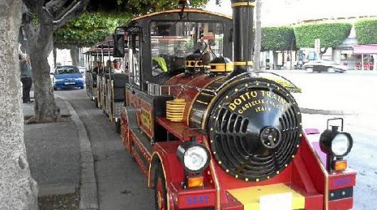 El tren turístico de la ciudad amplia sus horarios durante Semana Santa