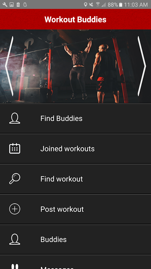 Workout Buddies- screenshot