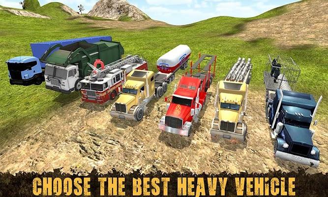 Up Hill Truck Driving Mania 3D - screenshot