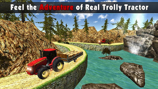 Rural Farm Tractor 3d Simulator - Tractor Games 2.1 screenshots 1