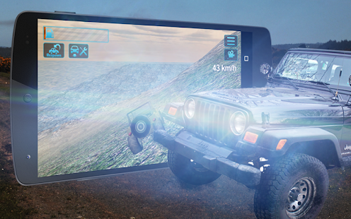 4x4 OffRoad Jeep Rally Race 3D - náhled