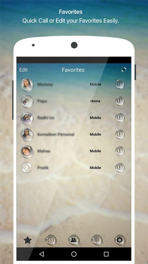 how to change caller id on android