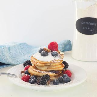 Healthy Homemade Pancake Mix.