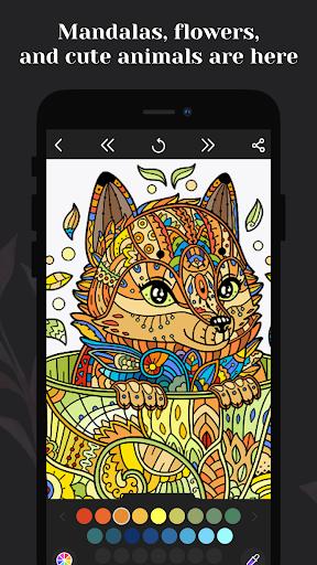 Coloring book for me - Mandala & Antistress 2.2.2.17 screenshots 3