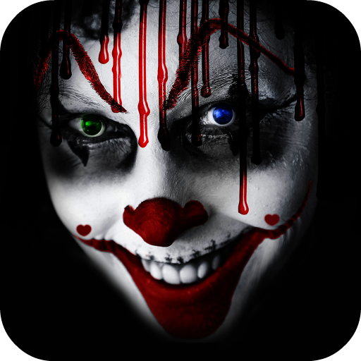 Scary Clown Camera Icon