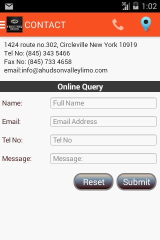 A Hudson valley Limousine- screenshot
