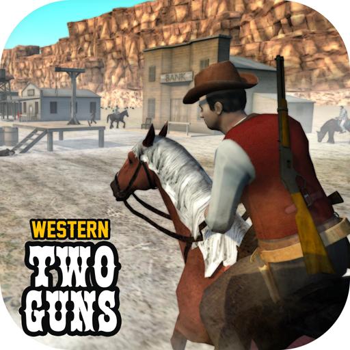 Western Two Guns - APK MOD RACK - Dinheiro Infinito
