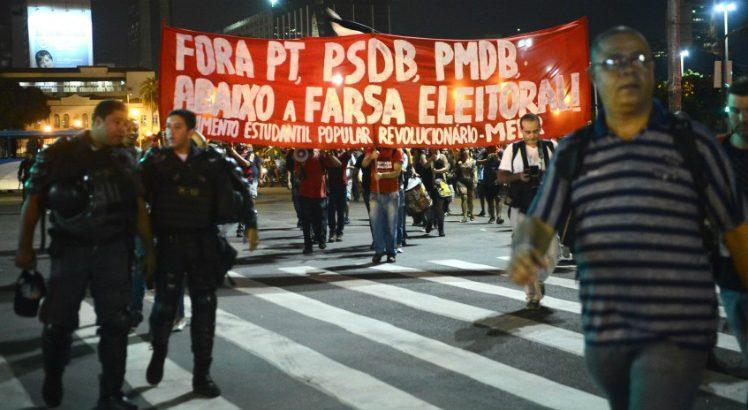 Resultado de imagem para conflito manifestações black bloc