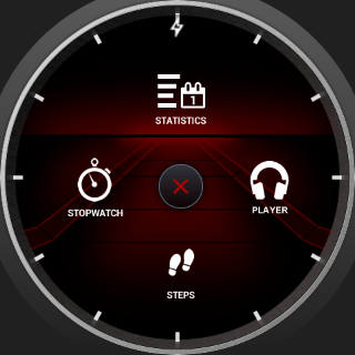 Throttle Watch Face- screenshot