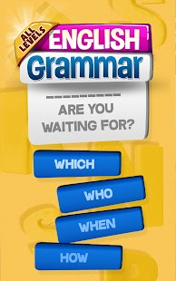 Ultimate English Grammar Test Screenshot