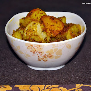 Boiled Potatoes And Cumin Seeds