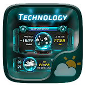 Technology GO Weather Widget Theme