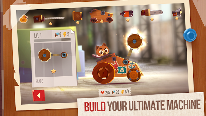 CATS: Crash Arena Turbo Stars - screenshot
