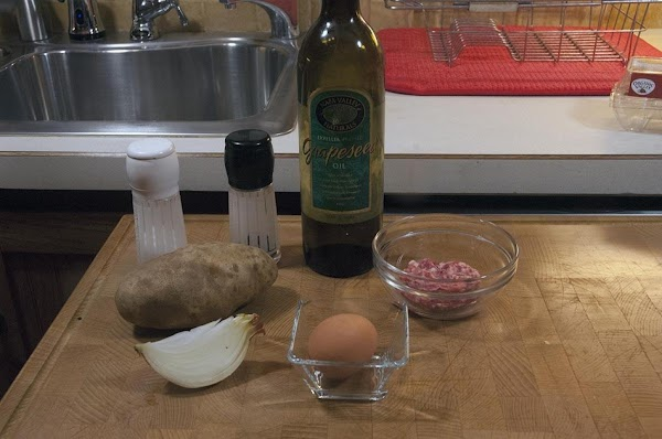 Gather and prep your ingredients