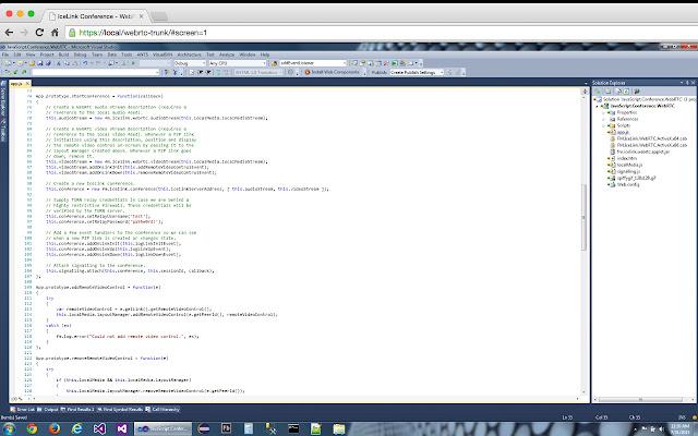 EventCenter WebRTC Screen Capture