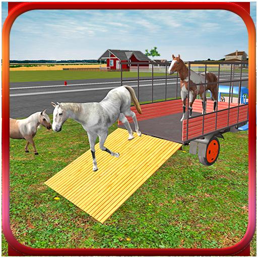 模拟の馬の輸送トラック2016 LOGO-記事Game